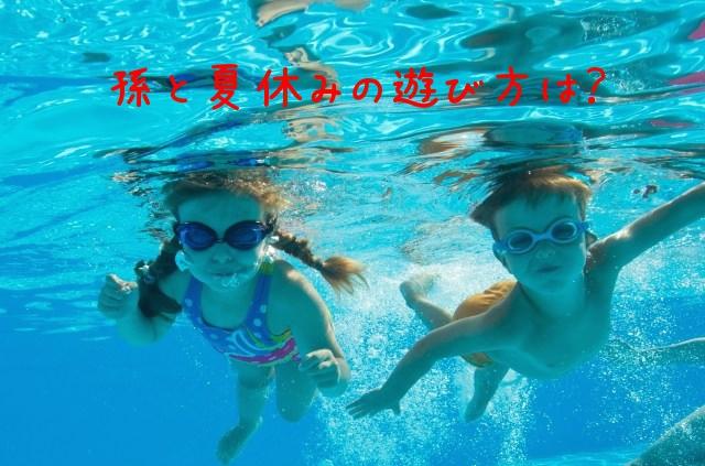 孫と夏休み